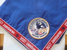 2017 National Jamboree Official Neckerchief, embroidered and piped