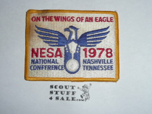 National Eagle Scout Association, 1978 National Conference Patch, soiled