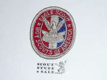 Eagle Scout Patch, Type 3C, 1956-1972, lite use