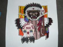 Order of the Arrow Lodge #300 Apoxky Aio 1998 NOAC 2 piece Flap Patch Set