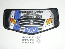 Order of the Arrow Lodge #197 Waupecan s45 2005 National Jamboree Flap Patch