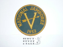 1953 National Jamboree Region 5 Contingent Patch