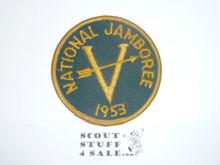 1953 National Jamboree Region 5 Contingent Patch