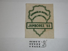 1953 National Jamboree JSP - Finger Lakes Council FELT JCP