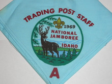 1969 National Jamboree Trading Post A Staff Neckerchief