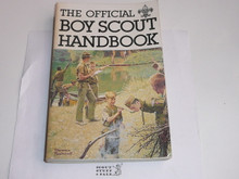 1979 Boy Scout Handbook, Ninth Edition, First Printing,Signed and inscribed by William Hillcourt aka Green Bar Bill, Lite wear, Last Norman Rockwell Cover