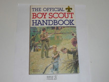 1983 Boy Scout Handbook, Ninth Edition, Seventh Printing, MINT condition, Last Norman Rockwell Cover