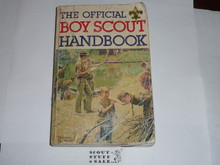 1979 Boy Scout Handbook, Ninth Edition, Second Printing, Used condition, Last Norman Rockwell Cover
