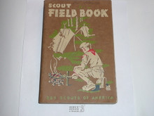 1958 Boy Scout Field Book, First Edition, Thirteenth Printing, very good condition but name written in a few places.