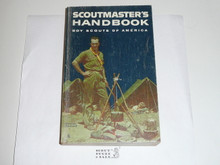 1965 Scoutmasters Handbook, Fifth Edition, Seventh Printing, MINT Condition, Norman Rockwell Cover