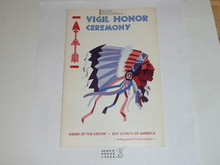 Vigil Ceremony Manual, Order of the Arrow, 1975, 4-75 Printing