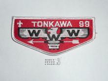 Order of the Arrow Lodge #99 Tonkawa s17 Flap Patch