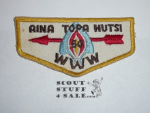Order of the Arrow Lodge #60 Aina Topa Hutsi f2b Flap Patch