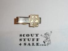 1967 Boy Scout World Jamboree Tie Clip, silver color, MINT