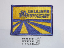 1979 Boy Scout World Jamboree Embroidered Patch