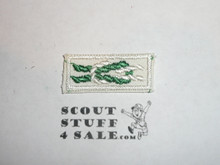 Scoutmaster's / Scouter's Key on Sea Scout White, 1967-1983