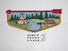 Order of the Arrow Lodge #189 Oposa Achomawi f6 Flap Patch - Boy Scout