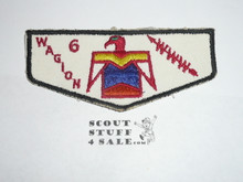 Order of the Arrow Lodge #6 Wagion f1 Flap Patch