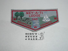 Order of the Arrow Lodge #240 Ney-A-Ti w1 Woven Flap Patch