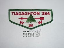 Order of the Arrow Lodge #384 Tiadaghton f2 Flap Patch
