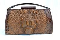 Stunning 1930's-40's Hornback CROCODILE Skin Purse