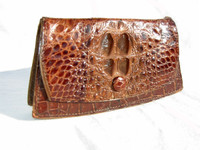 1920's HORNBACK Alligator Skin Wallet & Change Purse