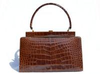 Timeless LESCO 1950's-60's ALLIGATOR Skin Handbag