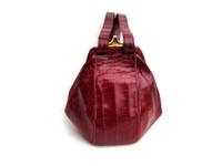 Unique SURREY ORIGINAL 1950's-60's RED Alligator Skin Handbag