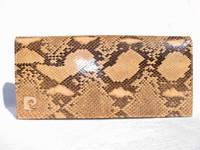 CLASSIC 1970's-80's PYTHON Snake Skin CLUTCH Shoulder Bag - SANES