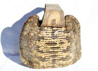 Gorgeous 1940's-50's Monitor (Ring) Lizard Skin Wristlet Handbag