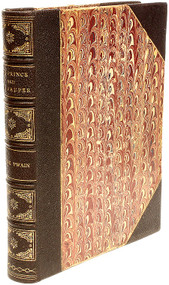 CLEMENS, Samuel - Mark Twain. The Prince and the Pauper: A Tale for Young People of All Ages. (FIRST EDITION SECOND STATE - 1882)