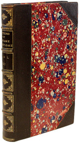 De SEVIGNE, Madame (Marie de Rabutin-Chantal). Letters of Madame De Sevigne to Her Daughter and Her Friends. An Enlarged Edition, Translated From The Paris Edition of 1806. (9 VOLUMES - 1811)