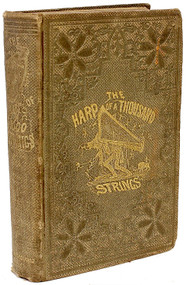 DODGSON, Charles Lutwidge: Carroll, Lewis. The Harp of a Thousand Strings; Or, a Laughter for a Lifetime. (THE FIRST AMERICAN APEARANCE OF LEWIS CARROLL - 1858)