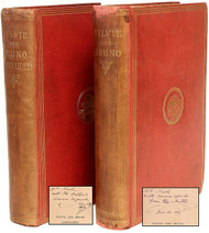 DODGSON, Charles Lutwidge; Lewis Carroll. Sylvie & Bruno - AND - Sylvie and Bruno Concluded. (FIRST EDITIONS PRESENTATION COPIES BOTH INSCRIBED TO THE SAME PERSON - 1889 & 93)