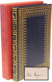 DODGSON, Charles Lutwidge; Lewis Carroll. Through the Looking Glass and What Alice Found There. (THE LIMITED EDITION CLUB - SIGNED BY ALICE HARGREAVES - 1935)