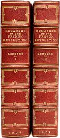 LENOTRE, G. (Frederic Less - translator). Romances of The French Revolution. (2 VOLUMES - 1909)