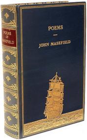 MASEFIELD, John. Poems. (1 VOLUME - 1948)