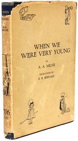MILNE, A. A.. When We Were Very Young. (FIRST EDITION - 1926)