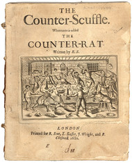 SPEED, John. The Counter-Scuffle. Whereunto is Added the Counter-Rat, Written By R.S.. (1680)