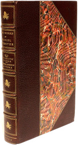 WEBSTER, Daniel. The Writings and Speeches of Daniel Webster. (18 VOLUMES - 1903)