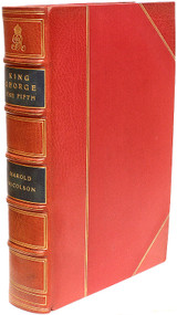 NICOLSON, Harold. King George The Fifth. (FIRST EDITION THIRD IMPRESSION - 1951)