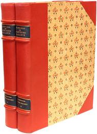 BAGARRY Adrien - CAYLUS - DIDEROT - VOLTAIRE - VIVANT DENON - Florilege des Conteurs galants du XVIIIe siecle. (2 VOLUMES - 1931)