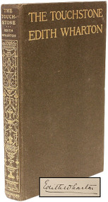 WHARTON, Edith. The Touchstone. (SIGNED - FIRST EDITION - 1900)