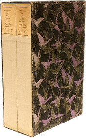 AUDUBON, John James (Howard Corning - editor), Letters of John James Audubon, 1826-1840. (2 VOLUMES - 1930)