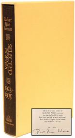 WARREN, Robert Penn. Robert Penn Warren Selected Poems 1923-1975. (FIRST EDITION LIMITED SIGNED - 1 OF 250 COPIES - 1976)