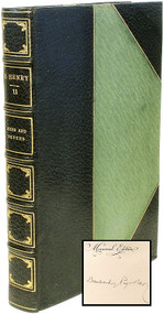 PORTER, William Sydney (O. Henry). The Complete Writings of O. Henry. (THE MEMORIAL EDITION SIGNED - 14 VOLUMES - 1917)