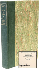 DAVIES, Robertson. The Lyre Of Orpheus. (FIRST EDITION LIMITED SIGNED - 1988)