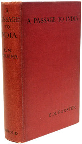 FORSTER, E. M. A Passage To India. (1924 - FIRST EDITION FIRST ISSUE)