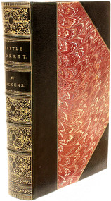 DICKENS, Charles. Little Dorrit. (FIRST EDITION FIRST ISSUE BOUND FROM THE PARTS - 1857)