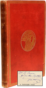 DODGSON, Charles L. (Lewis Carroll). A Tangled Tale. (SECOND EDITION PRESENTATION COPY - 1885)